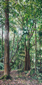 ELA II, 200 x 100 cm, 2015, Öl auf Leinwand
