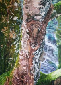 Orea, 85 x 120 cm, 2020, Öl auf Leinwand