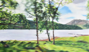 Street View VI, 70 x 120 cm, 2017, Öl auf Leinwand