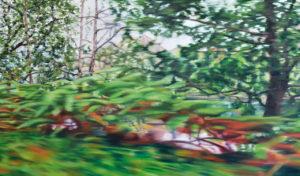 Street View VII, 70 x 120 cm, 2018, Öl auf Leinwand