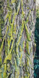 stepping aside VIII, 80 x 40 cm, 2015, Öl auf Leinwand